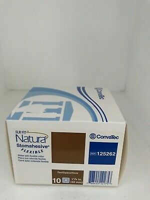 Convatec 125262 Sur-Fit Natura Stomahesive Flexible With Collar