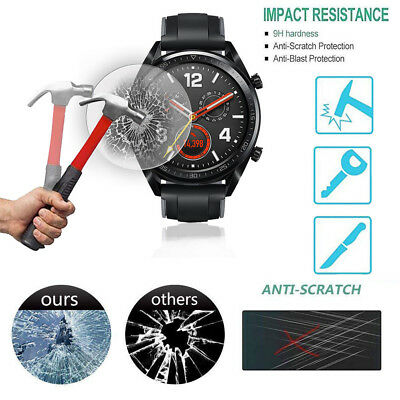 For Huawei Watch GT Premium Clear Tempered Glass 9H Screen Protector Film