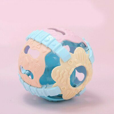Baby Rattle Ball Toy Hand Shaker Bell with Sound Light Educational Toy NW