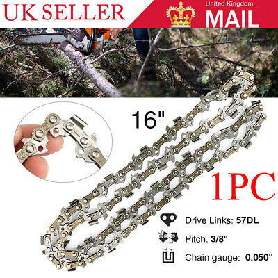 """Chainsaw Saw Chain Fits MCSP40 B/&Q Mac Allister 16/"""" 40cm With 57 Drive Links"""