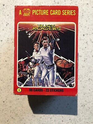 1979 Scanlen's Buck Rogers Cards -Near Complete Set Plus Swaps