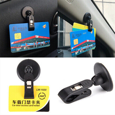 Auto Universal Plastic Holder Car Card Clip Parking Ticket   Fasteners