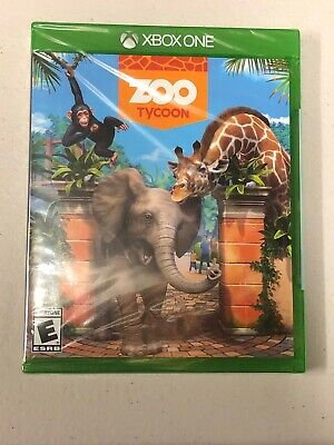 Zoo Tycoon for Microsoft Xbox One. Brand New Sealed! FREE SHIPPING!