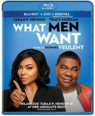 What Men Want (Blu-ray/DVD, 2019, Canadian)