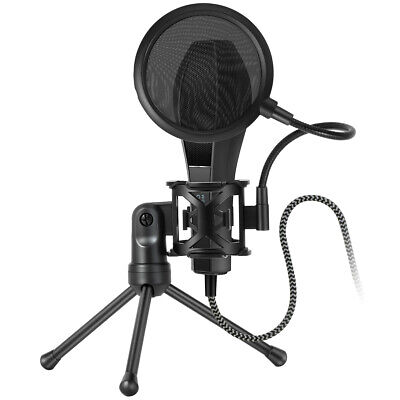 Professional Microphone Studio Double-layer Wind Screen Pop Filter Mask Shied
