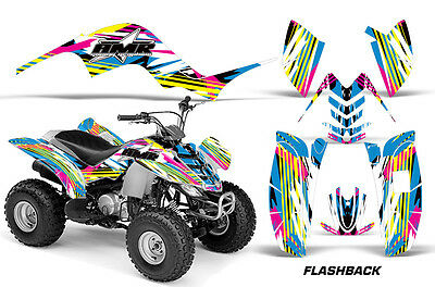 Atv Grafik Kit Quad Sticker für Yamaha Raptor 80 02-08 Flashback