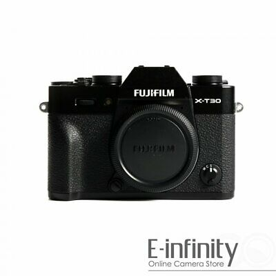 NEW Fujifilm X-T30 Mirrorless Digital Camera Body Only (Black)