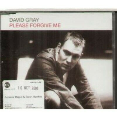 DAVID GRAY Please Forgive Me CD 1 Track Radio Edit Promo In Special Sleeve Wit