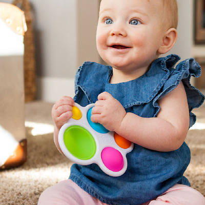 Dimpl by Fat Brain Toys, Tactile Sensory Toy, Fine Motor Skills, Babies and Chil