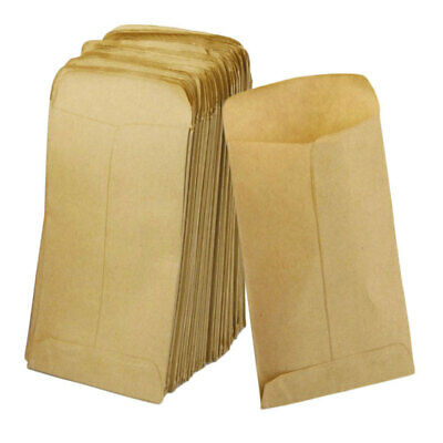 100Pcs Wedding Kraft Paper Favor Vintage Gift Candy Bag Party Supplies FRF