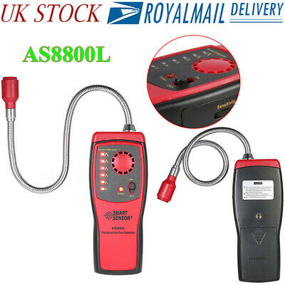 AS8800L Combustible Gas Detector Methane natural Gas Leak Analyzer Tester Alarm