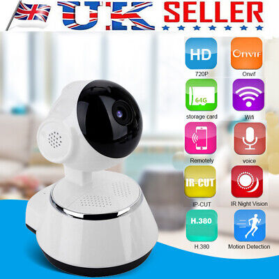 V380 Wireless HD 720P Camera WiFi Security Surveillance IR Webcam Night Vision
