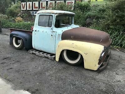 1956 ford f100 body hot rod project