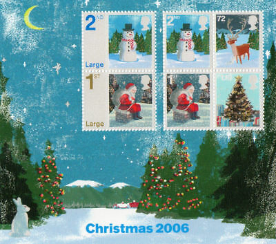 GB 2006 Commemorative Stamps~Christmas~ M/S~Unmounted Mint Set~UK