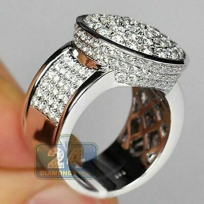 Gorgeous Round White Sapphire Engagement Ring 925 Silver Wedding Jewelry Sz6-10