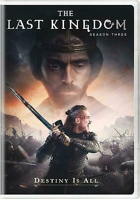 The Last Kingdom Season 3 DVD Brand New & Sealed Free Delivery Complete Box Set