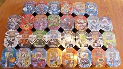 x25 50 100 RANDOM Pokemon Card Bundle Mix +TIN RARE HOLOS GUARANTEED Joblot MINT