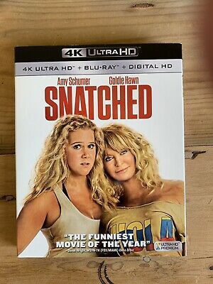 Snatched 4k UHD & Blu Ray Excellent Condition Region Free Usa Release with slip