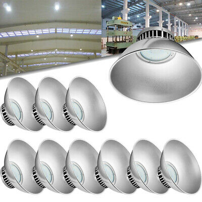 10X 70W DEL High Bay Light Industriel Lampe Entrepôt Lighting blanc froid IP54
