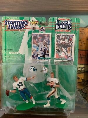 NFL Starting Lineup SLU Classic Doubles Action Figures and Cards 1997-1998
