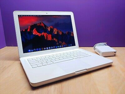"ULTRA Apple MacBook 13"" White Laptop / 2.4GHz Dual Core / 500GB STORAGE / 4GB"