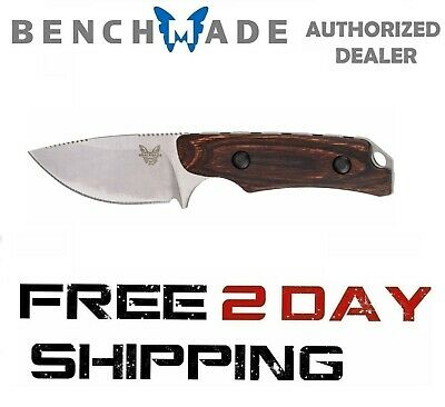 Benchmade Hidden Canyon Hunter 15016-2 Hunting Knife Drop-Point Wood Handle
