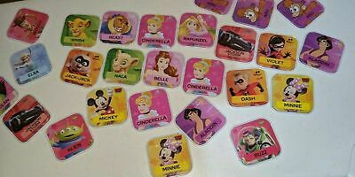 Woolworths Disney Words Tiles Select From List Family Collectible Gift Toy Game