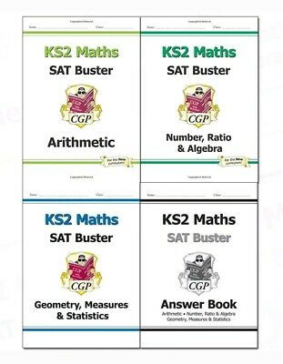 CGP Complete KS2 Maths SAT Buster Workbook Bundle (Set #1)