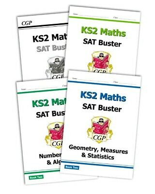 CGP Complete KS2 Maths SAT Buster Workbook Bundle 2