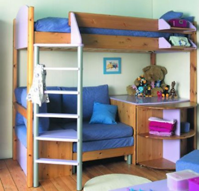 Sensational Stompa High Sleeper Bed With Sofa Pull Out Bed Drink Camellatalisay Diy Chair Ideas Camellatalisaycom