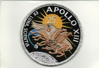 1990's 25th Anniversary Apollo Space Flight With Crew Patch Prepaid Phone Card