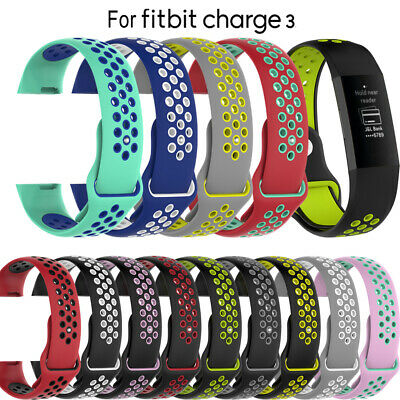 Wristband Charge 3 Band Wrist Strap Silicone Bracelet For Fitbit Charge 3