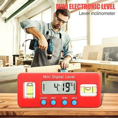 4*90° Digital Level Protractor Inclinometer Angle Finder Bevel Box Caliper Tool