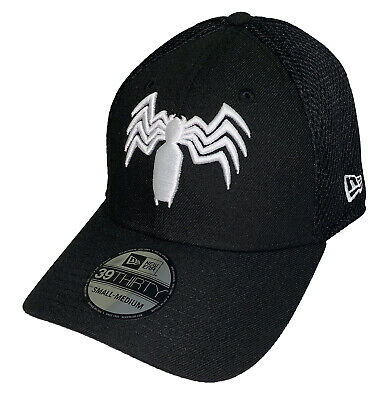 new concept bf6ee 39e72 Marvel Neo Venom Symbol New Era 39Thirty Fitted Hat Cap (Large XLarge)