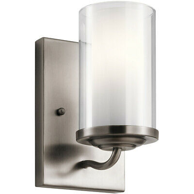 Kichler Lighting 44178CLP Lorin Wall Sconce Classic Pewter