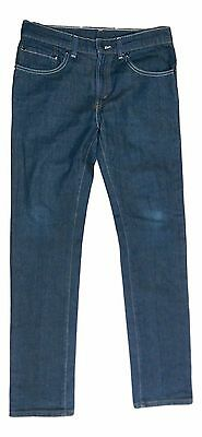 Levi's 510 Boy's Size 30W 30L Dark Blue Skinny Fit Denim Jeans PRE-OWNED