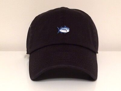 Southern Tide Small Fish EMB Hat Cap $30 NWT White M