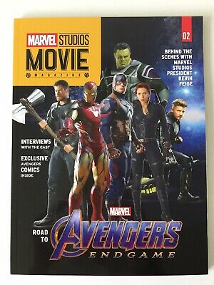Marvel Studios Movie Magazine #02 - AVENGERS ENDGAME  Iron Man / Thor / Spider