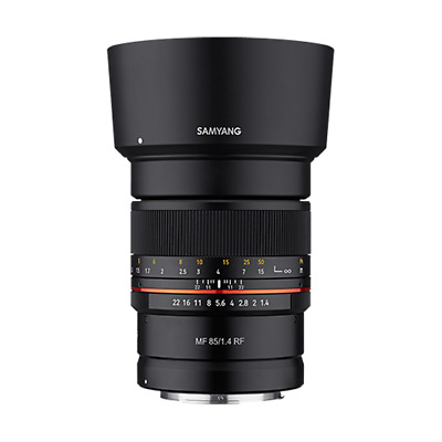 Samyang 85mm F1.4 Mf Objectif : Canon RF Support