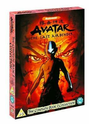 Avatar: The Last Airbender - The Complete Book 3 Fire DVD Collection, Good DVD,