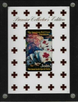 1990's Collectible American Red Cross Prepaid Phone Card