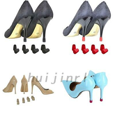 5/10pcs Stiletto High Heel Pads Non-Slip Protector Round Covers Shoes Stopper