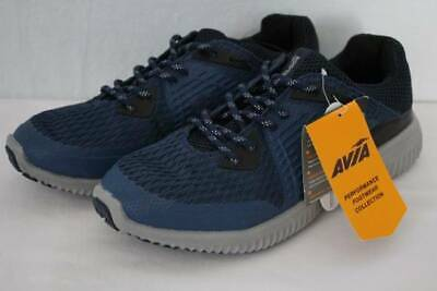 f565488dd70 Mens AVIA Tennis Shoes Size 9 Blue Athletic Sneakers Running Sports  Basketball