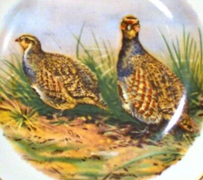 WEATHERBY HANLEY ROYAL FALCON WARE PHEASANTS DECORATIVE PLATE England