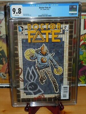 Doctor Fate #1 CGC 9.8  First Khalid Nassour as Doctor Fate 2015
