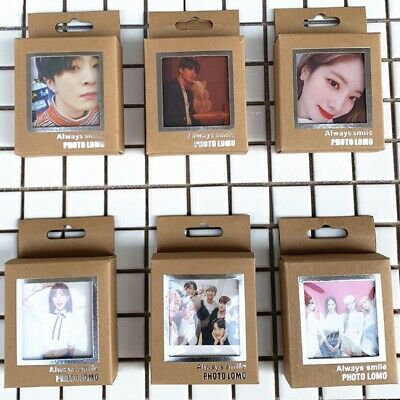 40Pcs/Sets KPOP BTS Lomo Card Blackpink IZONE TWICE GOT7 Polaroid Photo Cards