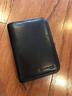 Kenneth Cole Black Leather Planner Preowned