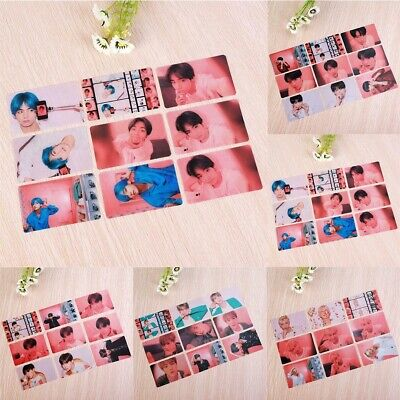 Kpop BTS Members Map of The Soul Persona PVC Clear Photo Card Photocard Poster