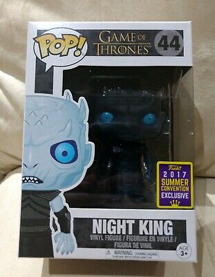 New Funko POP HBO Game Of Thrones Night King SDCC 2017 Translucent Exclusive