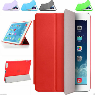 Magnetic Smart Case Slim Cover Wake For Apple iPad 2 3 4 mini 1 2 3 air 1 2
